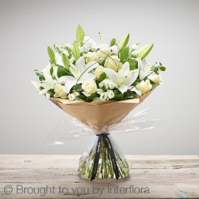 Wonderfully White Hand tied