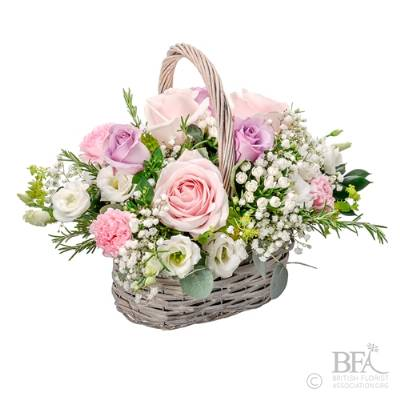 Pretty In Pink Basket
